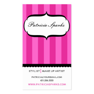 Hot Pink Parlour Business Card
