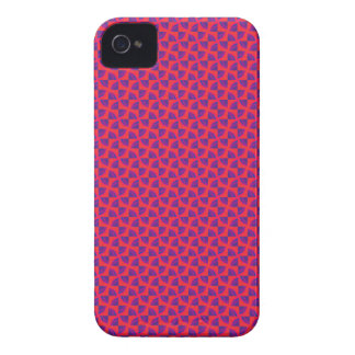 Hot Pink Pattern iPhone 4 Case