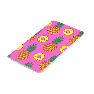Hot Pink Pineapple Pattern Journals