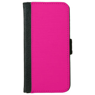 """""""Hot Pink"""" iPhone 6 Wallet Case"""