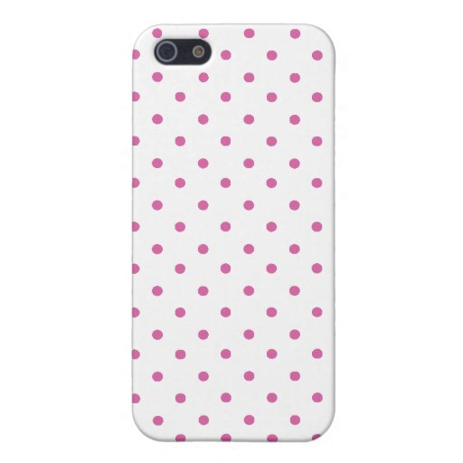 Hot Pink Polka Dots Case For iPhone 5
