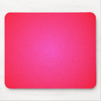 Hot Pink Pop Art Bold Color Mousepad Girly Stuff