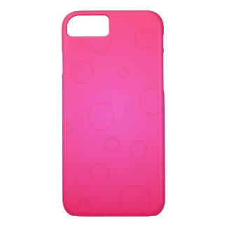 Hot Pink Pop Art Bright iPhone 7 Cases Girly Stuff