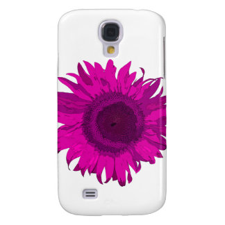 Hot Pink Pop Art Sunflower