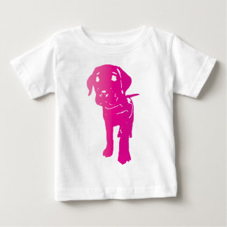 Hot Pink Puppy! Baby T-Shirt
