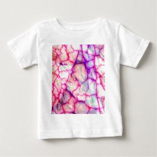 Hot Pink & Purple Veiny Quartz Baby T-Shirt