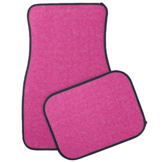 Hot Pink Retro Cardboard Colorful Texture Pattern Floor Mat