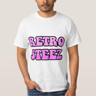 Hot Pink Retro Steez Tee Shirt