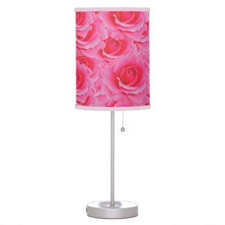 Hot Pink Roses Lamp