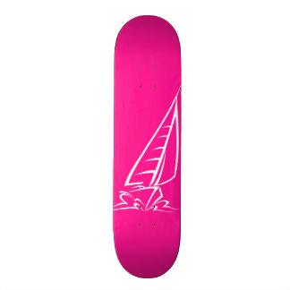 Hot Pink Sailing Skate Decks