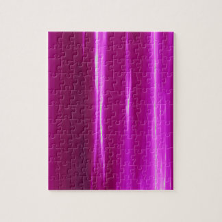 Hot Pink simple Design Jigsaw Puzzle