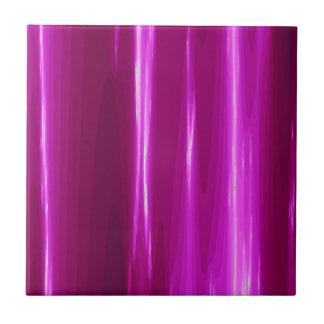 Hot Pink simple Design Tile