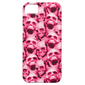 Hot Pink Skulls Case For The iPhone 5