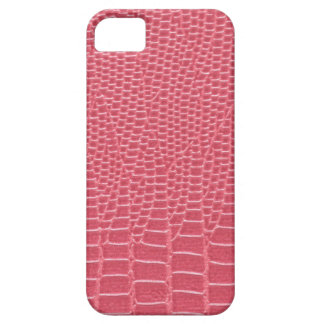 Hot pink snakeskin iPhone 5 case