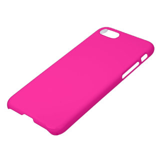 Hot Pink Solid Color Simple Plain iPhone 8/7 Case