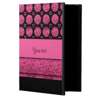 Hot Pink Stripes And Glitter Spots Powis iPad Air 2 Case