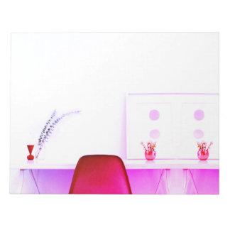 Hot Pink Teacher Chair From The Desk Of Notepads
