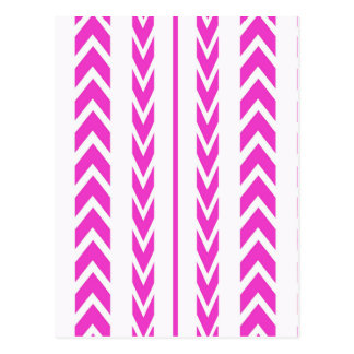 Hot Pink Tire Tread Postcard