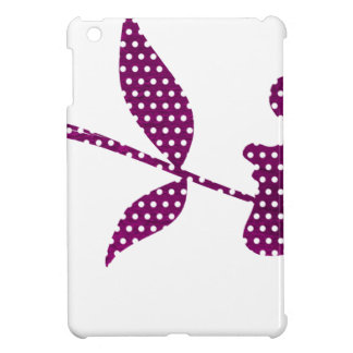 hot pink triangles cover for the iPad mini