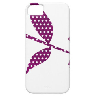 hot pink triangles iPhone 5 case