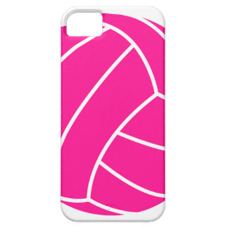 Hot Pink Volleyball iPhone 5 Cover