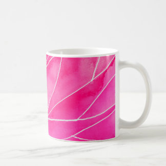 Hot Pink Watercolour Break Coffee Mug