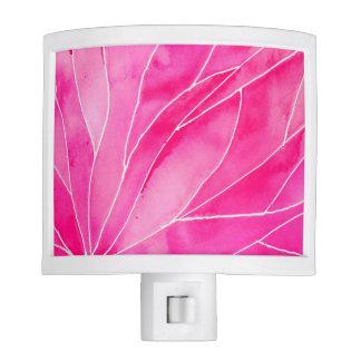 Hot Pink Watercolour Break Night Lites