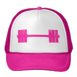 Hot Pink Weight Mesh Hat