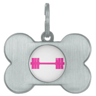 Hot Pink Weight Pet Tag