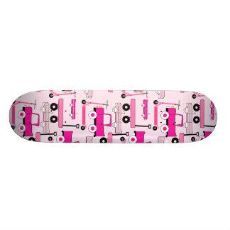Hot Pink Wheels Vintage Cars Trucks Scooters Wagon Skateboard