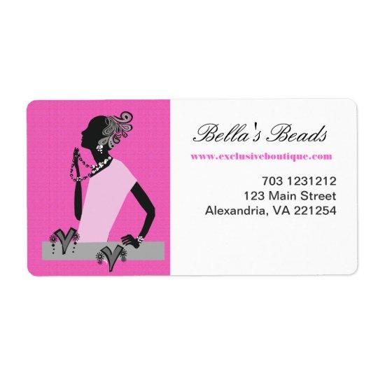 Hot Pink Woman Jewellery Fashion Model