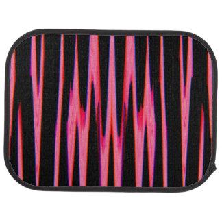 HOT PINK wrap (an abstract art design) ~ Floor Mat