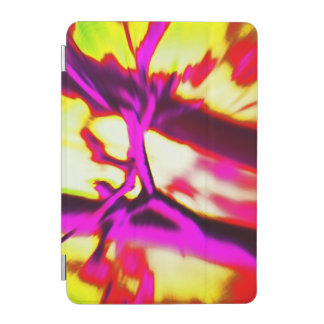 Hot Pink & Yellow Abstract Design iPad Mini Cover