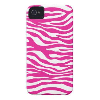 Hot Pink Zebra Animal Print Trendy iPhone 4/4s iPhone 4 Case