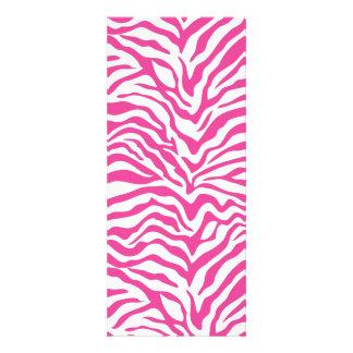 Hot Pink Zebra Print Wild Animal Stripes Novelty Personalized Invites