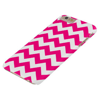 Hot Pink Zigzag Chevron iPhone 6 Plus Case