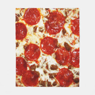 Hot Pizza Meme Blanket