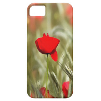 Hot Poppy iPhone 5 Case