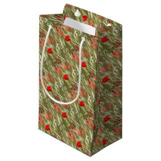 Hot Poppy Small Gift Bag