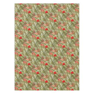 Hot Poppy Tablecloth