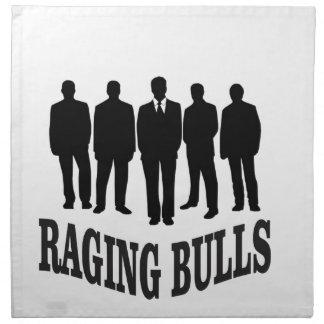 hot raging bulls napkin
