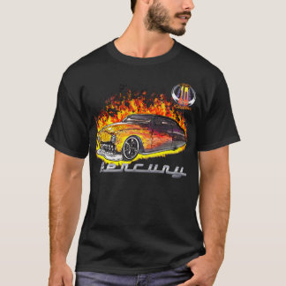 Hot Real Flame Merc-w/10yr logo T-Shirt