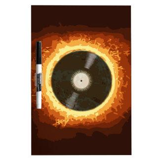 Hot Record Dry Erase Board