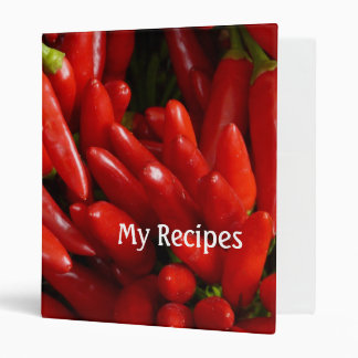 hot red chillies recipes vinyl binder
