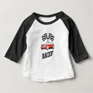 hot red racer baby T-Shirt
