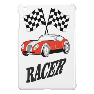hot red racer cover for the iPad mini