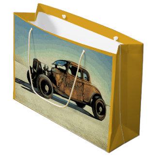 Hot Road Car Large Gift Bag