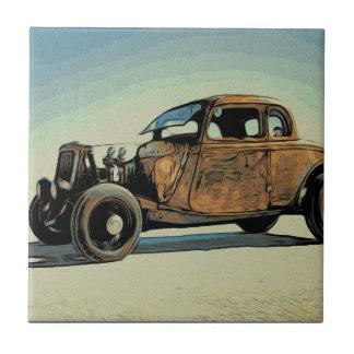 Hot Road Car Tile