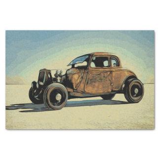 Hot Road Car Tissue Paper