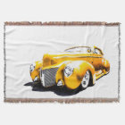 Hot Rod #1 Throw Blanket